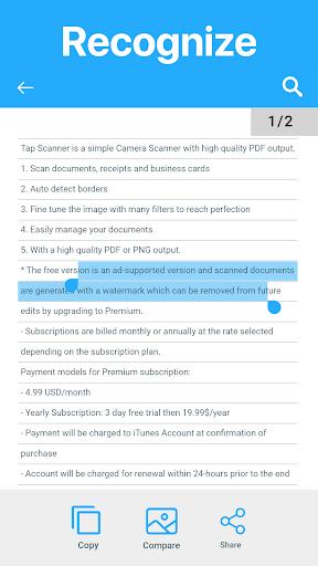 Camera Scanner To Pdf screenshot 7