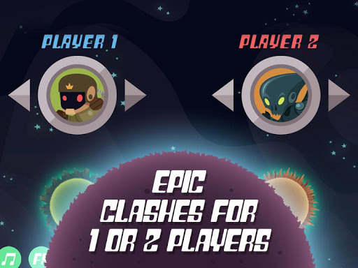 Planet Rider - 2 player Runner