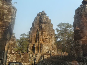 Photo: Angkor Thom was built about 100 years after Angkor Wat.