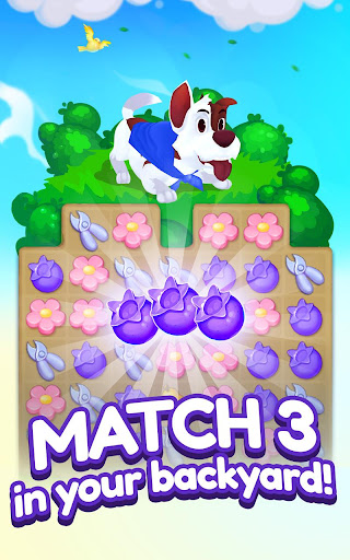 Backyard Bash: New Match 3 Pet Game 1.2.1 gameplay | by HackJr.Pw 11
