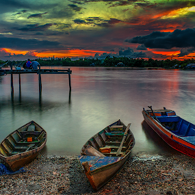 by Dadi Cai - Landscapes Sunsets & Sunrises ( pwcredscapes )