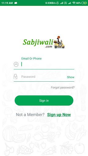 Sabjiwali - Online Sabji Shopping App screenshot 2