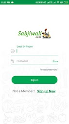 Sabjiwali - Online Sabji Shopping App APK screenshot thumbnail 2