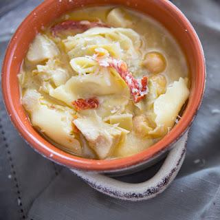 Tortellini & Artichoke Soup