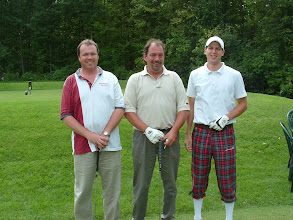 Photo: Randy Cavil, Jacques Charlebois, Francois Belair