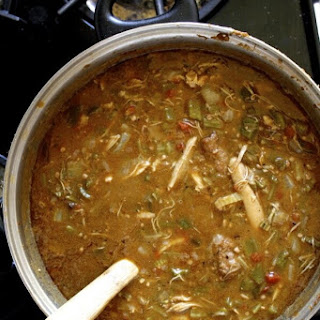 Spicy Chicken Andouille Gumbo.
