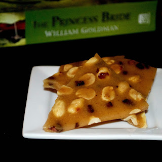 Spiced Peanut Brittle w/ Cocoa Nibs