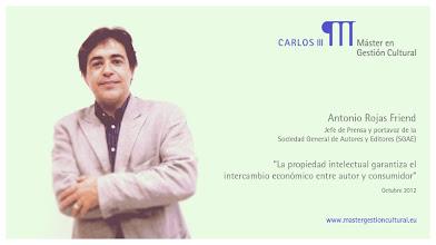 Photo: Antonio Rojas Friend - Entidades de Gestión colectiva de derechos @sgaeactualidad