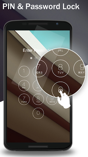 Lock Screen Nexus 6 Theme screenshot 4