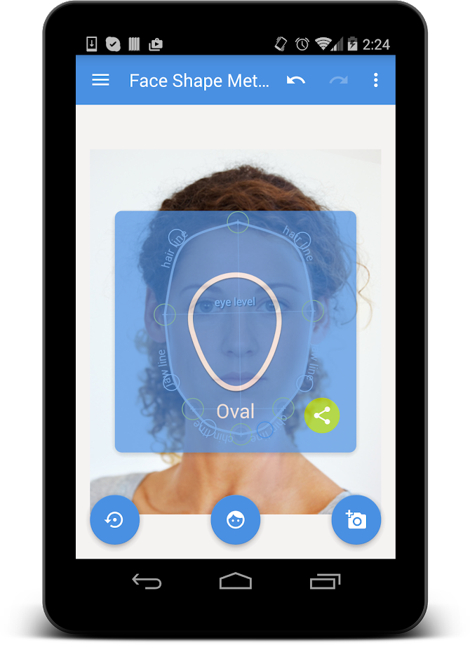 My Face Shape Meter Android 8