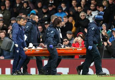 Denis Odoi stelt het goed nadat hij tegen Cardiff City werd afgevoerd