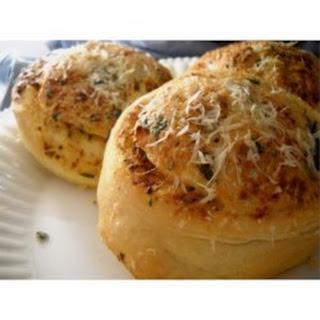 Garlic and Parmesan Dinner Rolls.