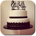 Wedding Cake Toppers icon