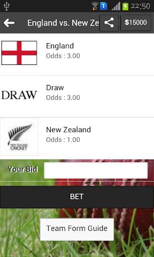 Fantasy Betting Game