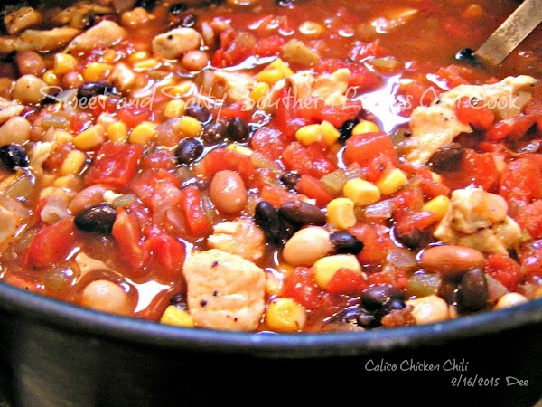 Calico Chicken Chili Recipe