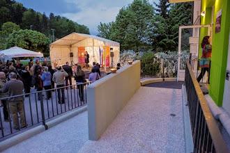 Photo: Odprtje prenovljene Knjižnice Šentvid, Ljubljana - Šentvid. (Foto Nuša Osredkar)
