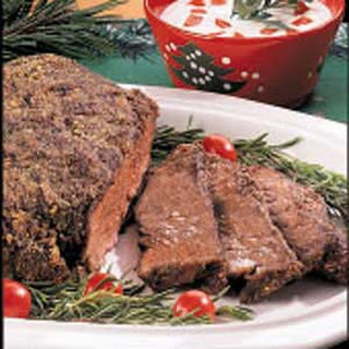 Herb-Crusted Chuck Roast.