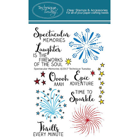 Technique Tuesday Clear Stamps 4X6 - Spectacular Memories