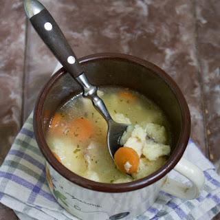 Chicken Grits Noodle Soup (Pileća Supica s Noklicama)