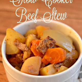 Easy Slow Cooker Beef Stew.