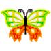 Butterfly Color by Number - Pixel Art Sandbox Draw icon