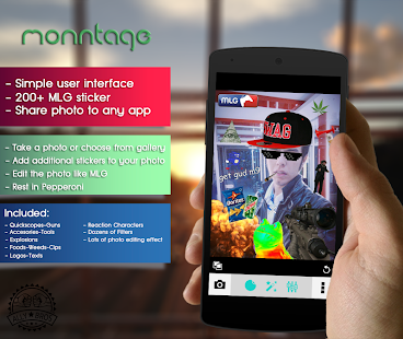 Monntage: MLG Editor - screenshot thumbnail