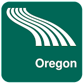 Oregon Map offline