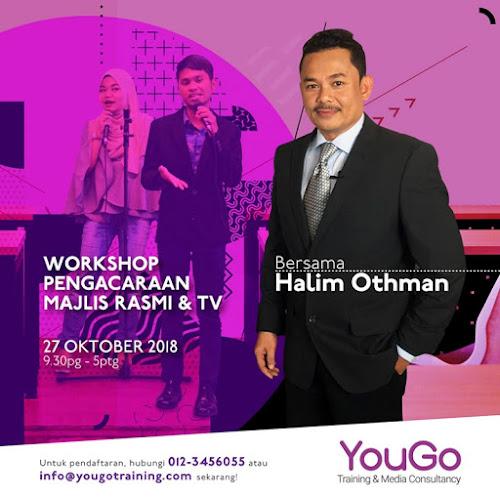 Workshop Pengacaraan Halim Othman 20181027