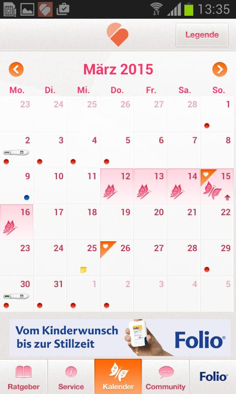 Eisprungkalender