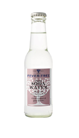 Soda water fever tree Julhès