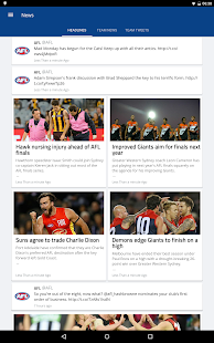 AFL Footy Live- screenshot thumbnail
