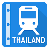 Thailand Rail Map - Bangkok
