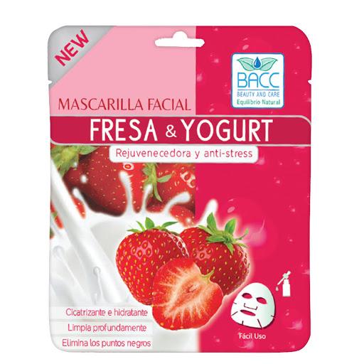 masc facial bacc fresa/yogurt
