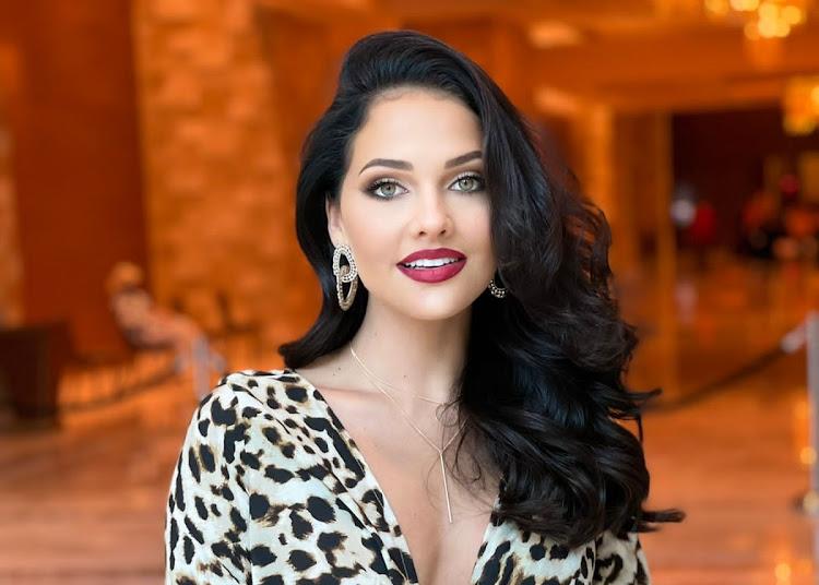 Natasha Joubert, SA's Miss Universe hopeful.