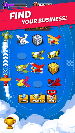 Merge Airplane: Cute Plane Merger 2.0.1 screenshots 11