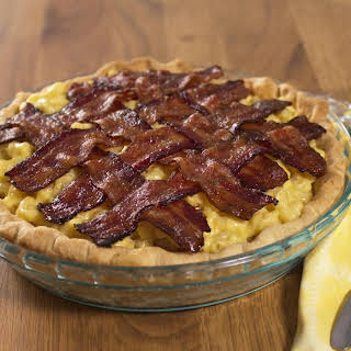 Mac 'n' Cheese Pie With Bacon.