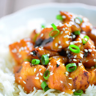 Grilled Orange Chicken