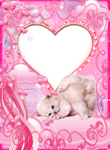 Pink Heart Frames by JP Apps Studio (Google Play, United States ...