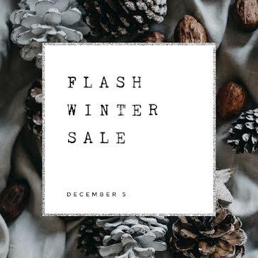 Flash Winter Sale - Instagram Post template