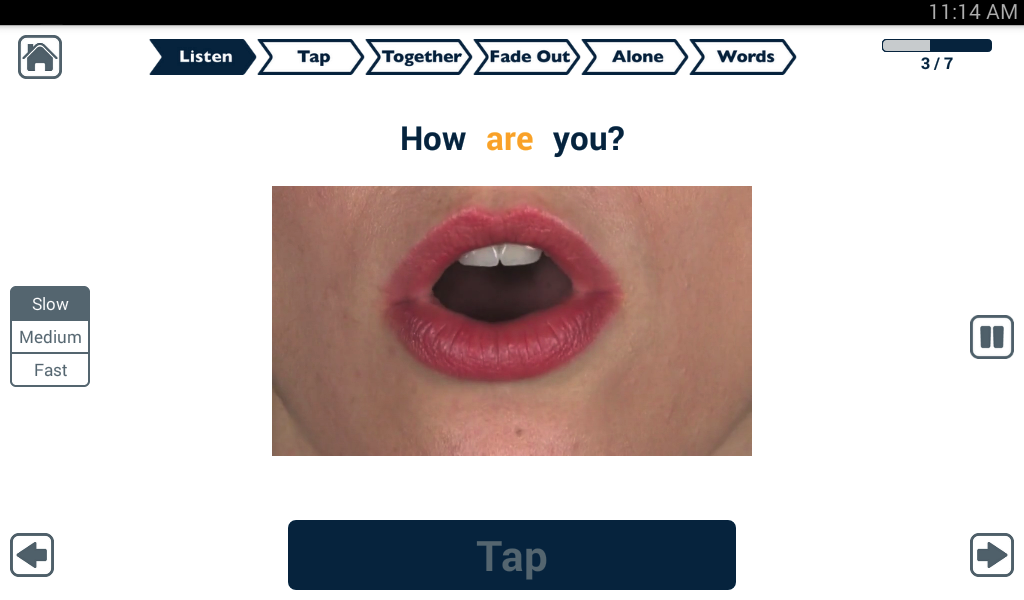 Apraxia Therapy Lite- screenshot