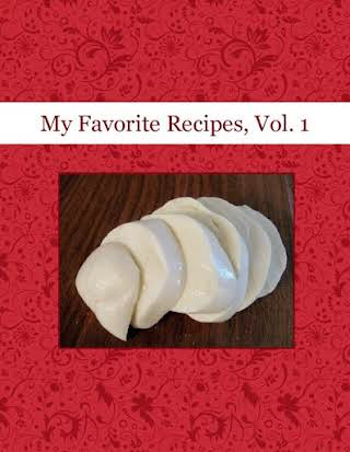 My Favorite Recipes, Vol. 1