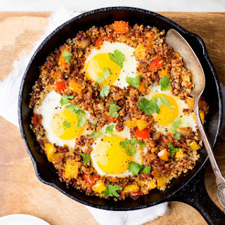 Chorizo and Quinoa Skillet