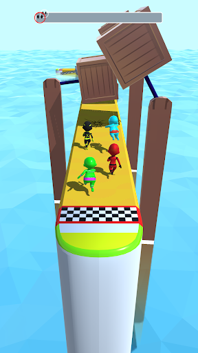 Sea Race 3D - Fun Sports Game Run 3D  screenshots 2