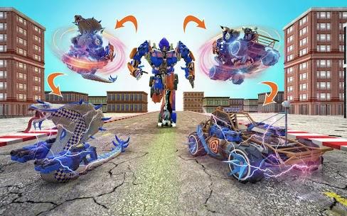 Snake Robot Transform Battle 2