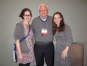 Photo: Jaime and I with Frank Drake. Yes, THE Frank Drake.  Awesome.