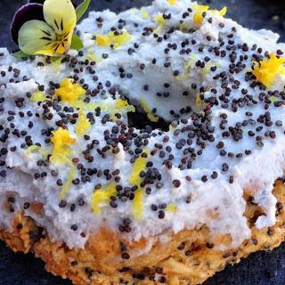 Sugar-Free Lemon Poppy Seed Oat Doughnuts [Vegan, Gluten-Free]