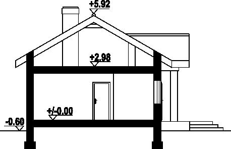 Miłków 7 - Przekrój