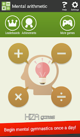 Mental arithmetic (Math, Brain Training Apps) Apk Download Free for PC, smart TV
