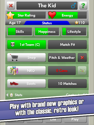 New Star Soccer screenshot 9