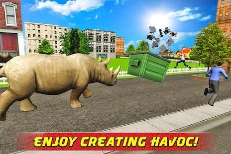 Angry Rhino Revenge Simulator screenshot